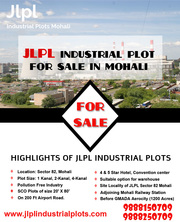 JLPL Industrial Plot For Sale in Mohali